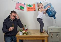 World's Best Father: Dave Engledow with Daughter Alice Bee | Just Imagine - Daily Dose of Creativity
