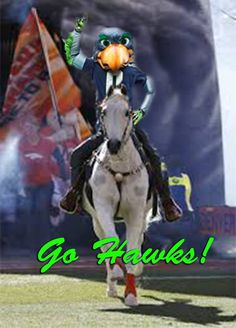 Seahawks...ride that Bronco into the sunset