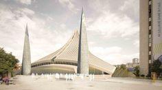 Central Mosque of Pristina Competition Entry / Victoria Stotskaia, Raof Abdelnabi, Kamel Loqman