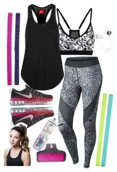 """""""going for a morning run?"""" by annisazatadiny on Polyvore featuring NIKE, Victoria's Secret, Monster and Titika"""
