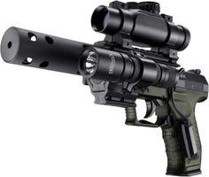 I think its a Springfield XD. Its a Walther Safari, Springfield Xd, Fire Powers, Home Defense, Airsoft Guns, Weapons Guns, Cool Guns, Tecno, Guns And Ammo