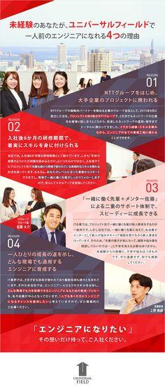 ユニバーサルフィールド株式会社/ネットワークエンジニア ※20代の若手が多数活躍中!/NTTグループなど大手企業案件多数/未経験歓迎の求人PR - 転職ならDODA(デューダ)