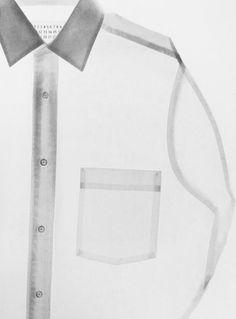 maison martin margiela·soft·pink·transparent·m Look Fashion, Fashion Details, Fashion Design, Fashion Still Life, Fashion Brand, Mode Inspiration, Design Inspiration, Lingerie Look, White Shirts
