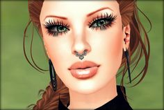 Perv My Style - Second Life Fashion Blog: Lucky - Luck of The Irish, Eyelure, K-Otic