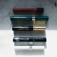 #100empties: Three Mascaras and Two Lip Glosses. – Armour and Warpaint