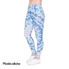VISNXGI Brand Hot Sales Leggings Print Slim High Waist Legging High Elasticity Leggins Legins Trouser Pants For Women Multicolor Blue Leggings, Printed Leggings, Workout Leggings, Women's Leggings, Women Sleeve, Trouser Pants, Long Sleeve Crop Top, Skinny Pants, Black Pants