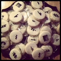 Cookies for piano recital