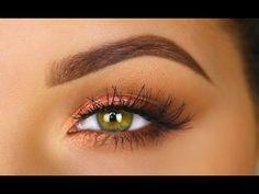 Rose Gold Makeup Tutorial - YouTube
