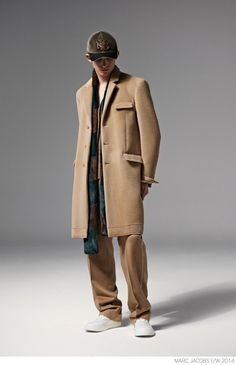 Marc Jacobs Unveils Modern Suiting for Fall/Winter 2014 image Marc Jacobs Fall Winter 2014 Collection Look Book Formal Suiting 008 800x1240