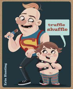 truffle shuffle.