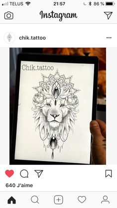 Leo Tattoos, Bild Tattoos, Future Tattoos, Body Art Tattoos, Sleeve Tattoos, Lion Back Tattoo, Back Tattoo Women, Tattoo Brazo, African Tattoo