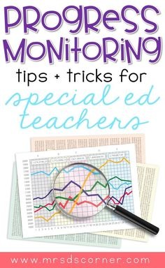 Data collection for special education teachers doesn't have to be a tedious or all day task. as a self-proclaimed data nerd, i am here to tell you that it's Special Education Teacher, Teacher Resources, Geek Culture, Data Binders, Preschool Special Education, Student Data, Thing 1, Data Collection, School Psychology