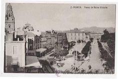 MURCIA. PASEO DE REINA VICTORIA. ED. POSTALES FERGUI. SIN CIRCULAR - Foto 1