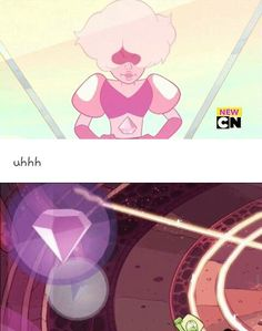Related image<<<Whoa. Back the truck up! Is that really who it is in that Rose Quartz bubble?!