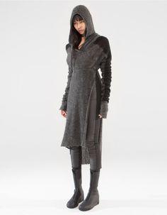 HOODY DRESS SOUND LAB   DRESS   DEMOWOMAN   DEMOBAZA Store