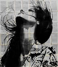 "Saatchi Art Artist Loui Jover; Drawing, ""wild flower"" #art"