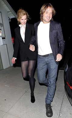 Nicole Kidman and Keith Urban had a romantic Valentine's Day meal at Eveleigh in West Hollywood.