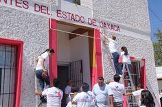 Ivette Morán de Murat encabeza Tequio Institucional en la Procuraduría del DIF Oaxaca