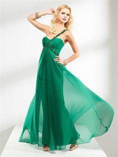 Sheath One shoulder with Beadings Empire Chiffon Homecoming Dress HD1010 www.homecomingstore.com $129.0000