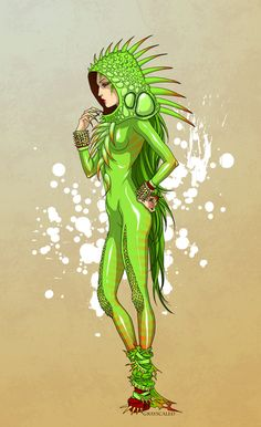 Iguana Costume by GRAYSCALED on deviantART