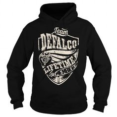 Cool Team DEFALCO Lifetime Member (Dragon) - Last Name, Surname T-Shirt T shirts