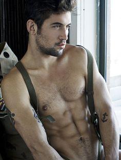 benjamin godfre model | Benjamin Godfre by Dylan Rosser for TMF y nuevas by Rick Day ...