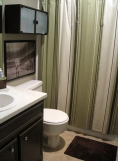 identical bathroom layout barely any work simply paint and new cabinet