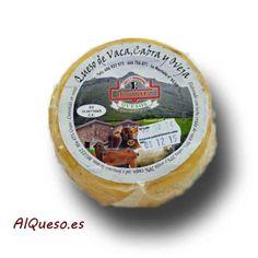 Queso artesano de vaca, cabra y oveja De Cantabria de Queserías Hermanos Saez