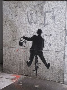 Paris Wall art, @Jo Stewarté Texidor Moma bikes