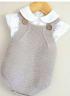 this sweet little set would be suitable for the spring baby rompers and jacket which is a sideways knit is completed in simple garter stitch and would be suitable for the advanced beginner knitter minimal seaming is involved - PIPicStats Baby Knitting Patterns, Knitting For Kids, Baby Patterns, Summer Knitting, Free Knitting, Summer Patterns, Simple Knitting, Knitting Gauge, Beginner Knitting