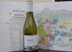 Wine Map of Spain and Portugal is the backdrop to this bottle of Godello from Valdesil in the Valdeoras DO region of Northern Spain. Map available for shipping to Australian addresses from Vinodiversity Map Of Spain, Spain And Portugal, Wine Varietals, Spanish Wine, Andalusia, Wine Making, Wine Country, Wines, Maps