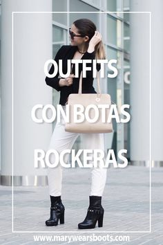 Movies, Blog, Outfits, Brown Boots, Short Boots, Rocker Chick, Black, 2016 Movies, Outfit