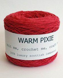 Dark Pink - Lambswool Knitting & Crochet #Yarn