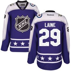 13f7d7fc6 Men s Winnipeg Jets Patrik Laine Purple 2017 All-Star Central Division  Stitched NHL Jersey