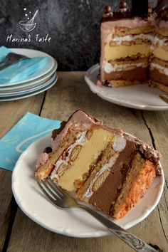 Kinder torta - MarinaS Taste Coconut Recipes, Baking Recipes, Cookie Recipes, Snack Recipes, Dessert Recipes, Torte Recepti, Kolaci I Torte, Rodjendanske Torte, Torta Recipe