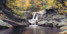 Frenchman's Hole, Bethel, Maine #happyplace #sundayriver #waterfall