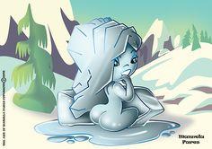 Winter Lady  #pinup #sexy #sweet #illustration #digitalprint #digitalart #digitalartist #digital #china #digitalpaint #digitalpainting #paint #art #artist #like #color #cartoon #eroine #animation #digital #artfun #creative #creativart #winter #ice #fantasy #fantastic