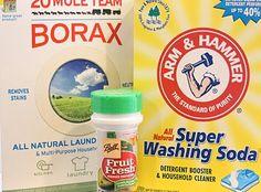 homemade dishwasher detergent!!