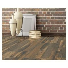 Daltile Parkwood Beige 7 in  x 20 in  Ceramic Floor and Wall Tile     MARAZZI Montagna Wood Weathered Brown 6 in  x 24 in  Porcelain Floor and  Wall Tile  14 53 sq  ft    case