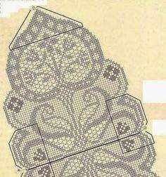 Kira scheme crochet: Scheme crochet no. 3043