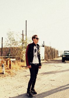 Mikey Way of My Chemical Romance :)