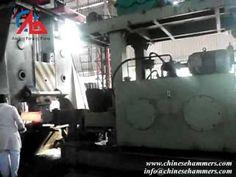 3 ton hydraulic open die drop hammer and 3 ton forging manipulator