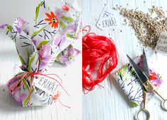 wrapped wildflower seeds