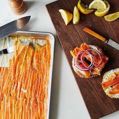 """Smoked Carrot """"Lox"""" Recipe on Food52 recipe on Food52"""