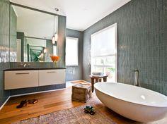 15 Simply Chic Bathroom Tile Design Ideas | Bathroom Ideas & Design with Vanities, Tile, Cabinets, Sinks | HGTV