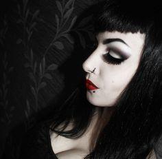 #maleficent #maleficentmakeup #BethVoodoo #BethVoodooDoll #Goth #Gothicmakeup