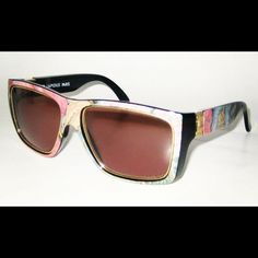 Ted Lapidus Marbled/ Multicolor Sunglasses #rare#vintage#france#80s