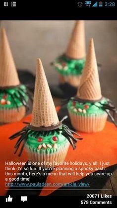 Witch desserts! @Donna Blumhorst