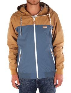 Auf Deck Jacket [steelblue] // IRIEDAILY Jackets Men // FALL/WINTER 2014: http://www.iriedaily.de/men-id/men-jackets/ #iriedaily