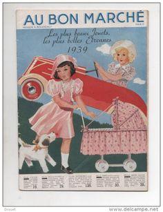 CATALOGUE DE JOUETS  CADEAUX - AU BON MARCHE - 1939